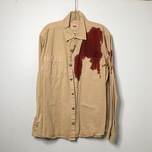 Halloween Fake Bloody Shirt